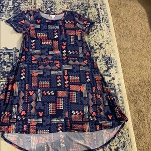 Lularoe Carly Mickey Mouse dress